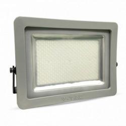 LED Fluter - 200W, schwarz/grau Körper, SMD, weiß