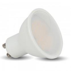 LED Spot Lampe - GU10, 5W, SMD, Plastik, warmweiß