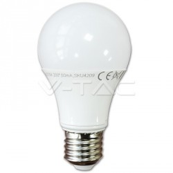LED Lampe - E27, 10W A60 Thermoplastische weiß