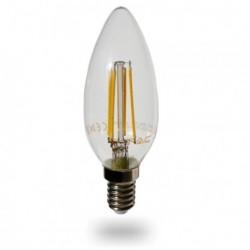 LED Glühlampe - E14, 4W, dimmbar, warmweiß