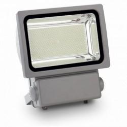 LED Fluter - 300W, Klassiker, PREMIUM, Körper grau, SMD, weiß